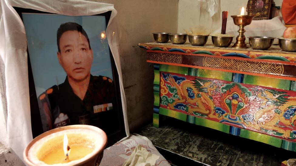 Photograph of Nyima Tenzin