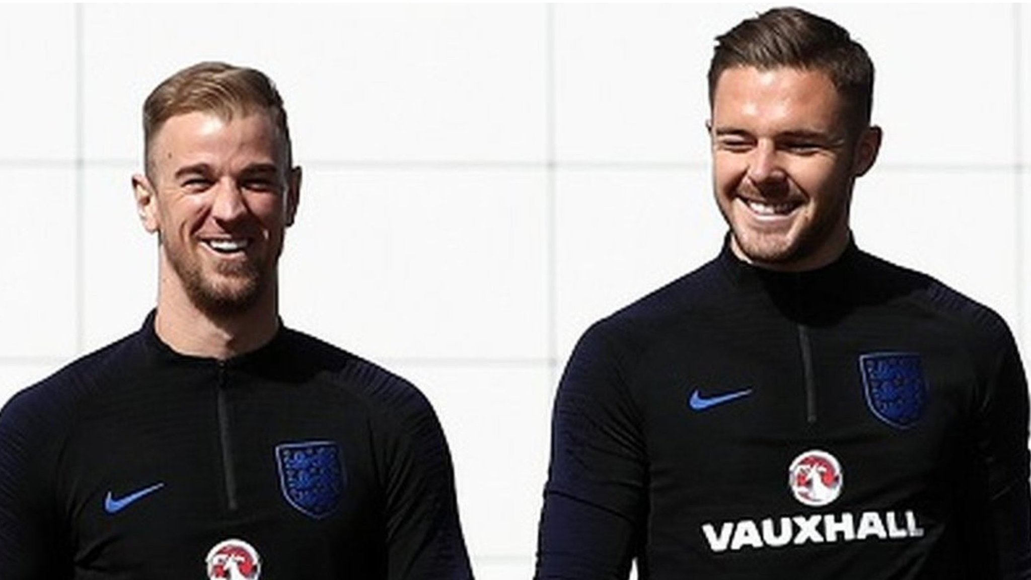 World Cup: Jack Butland spoke to 'hero' Joe Hart after England omission