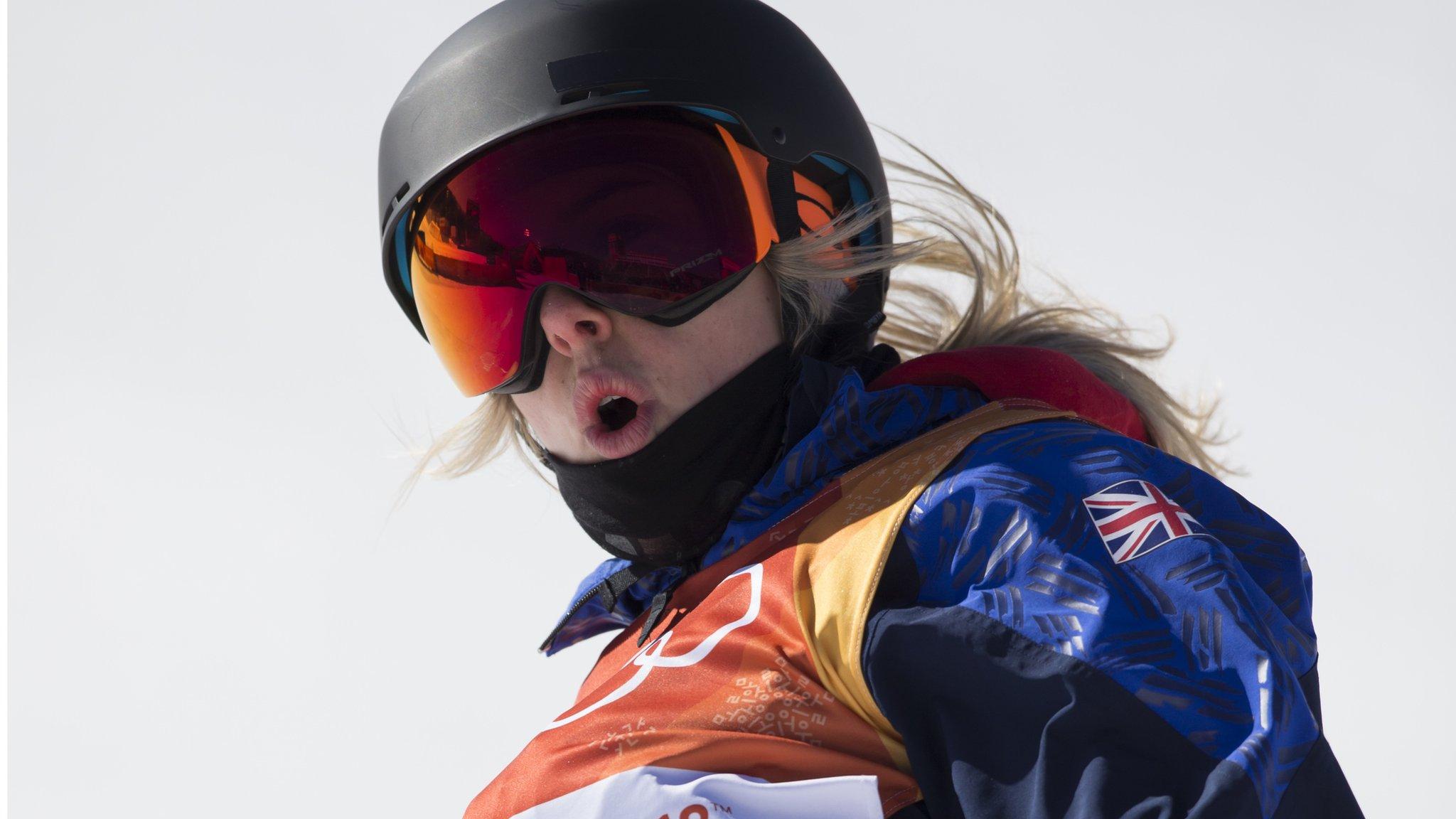 Katie Summerhayes: British freestyle skier ruptures knee ligament for third time