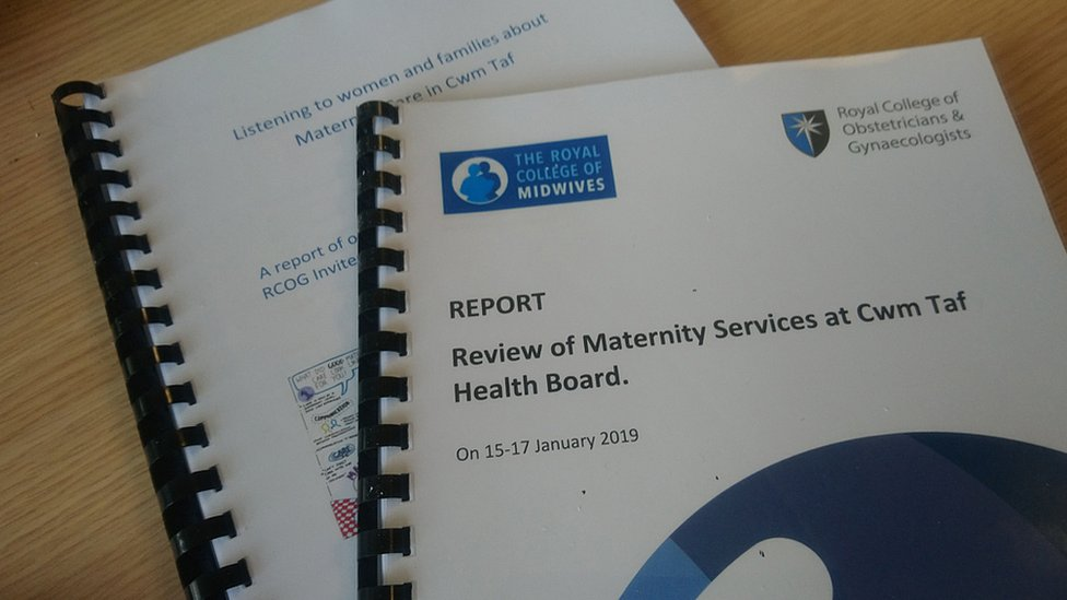The review published two parallel reports into Cwm Taf maternity services and the experiences of mothers