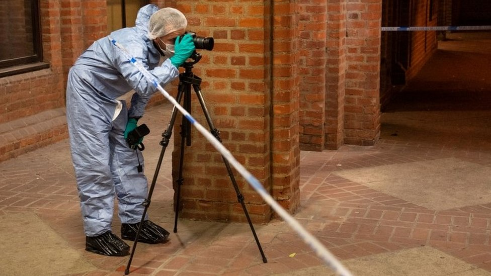 Forensic officer in Uxbridge