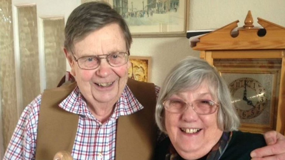 Storm Ali: Man blown over on 55th wedding anniversary dies