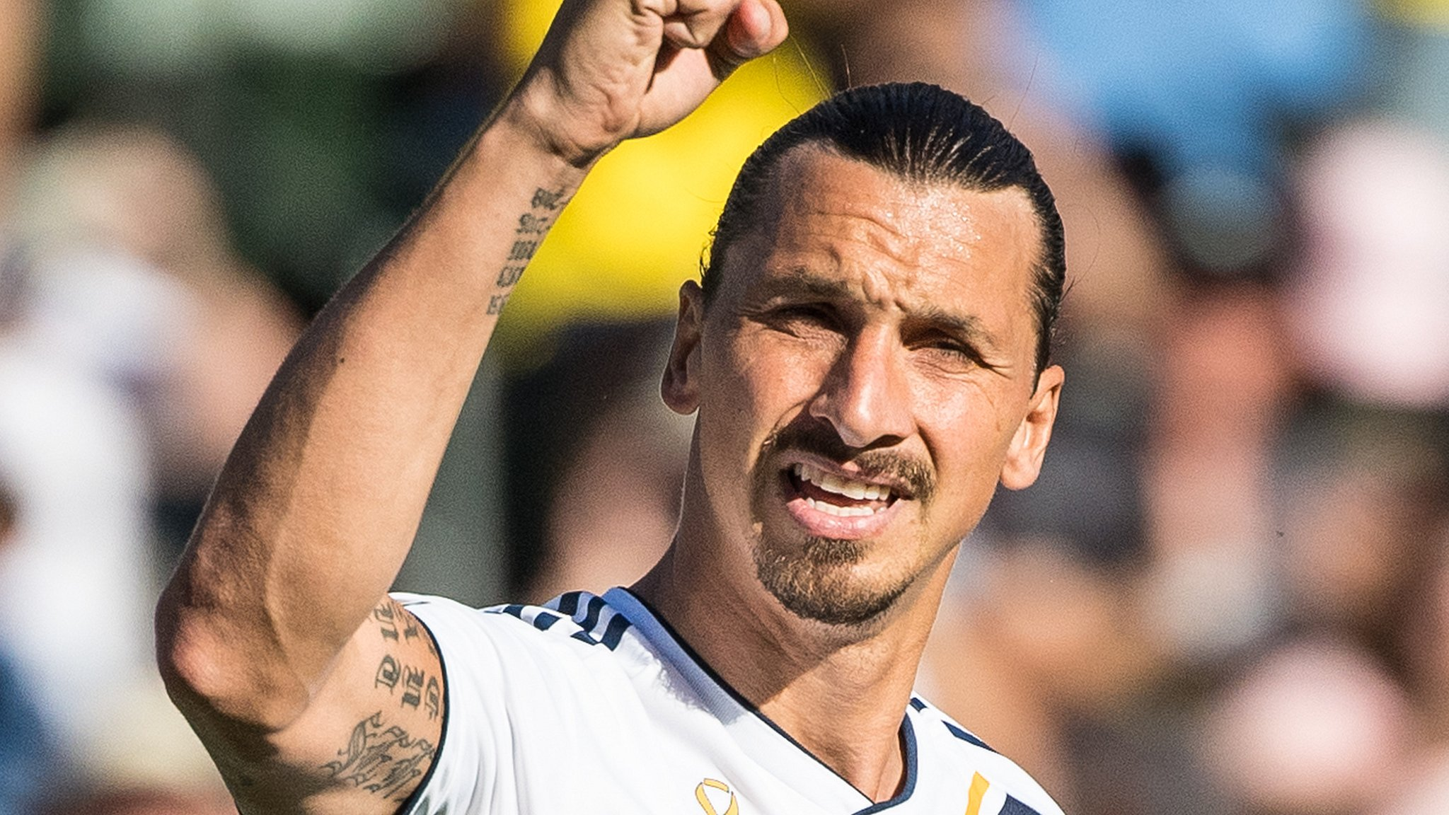 Zlatan Ibrahimovic: LA Galaxy striker to stay with Major League Soccer side for 2019