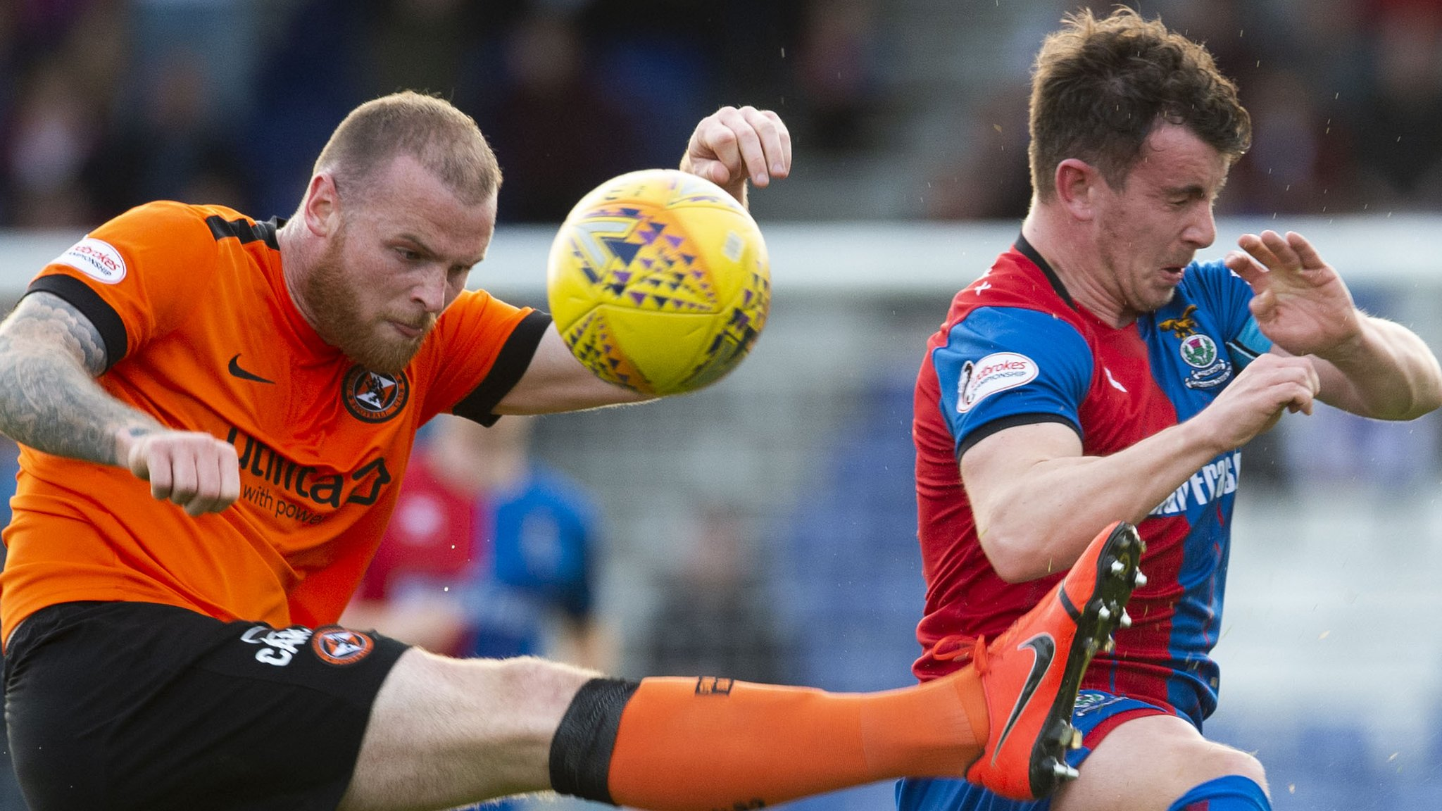 Dundee United v Inverness CT: Highlanders confident despite losing first leg at home