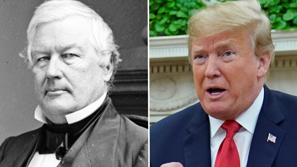 Fillmore y Trump