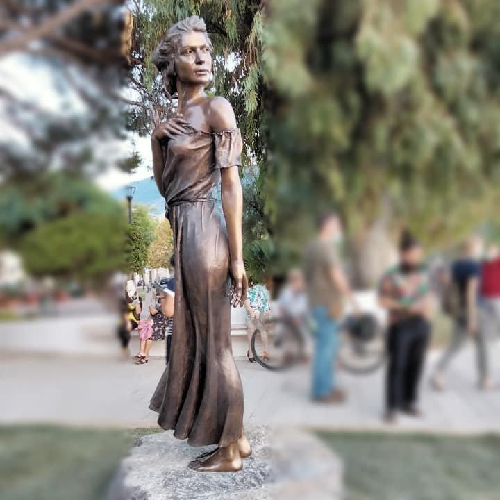 İtalya'da tartışma yaratan heykel
