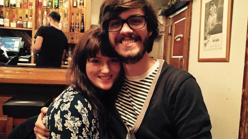 Laura Segan and Spencer Russ