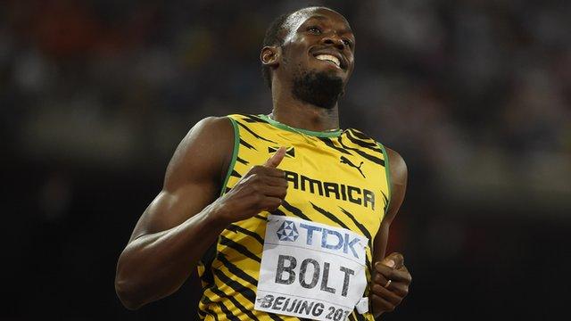 Six-time Olympic Champion Usain Bolt