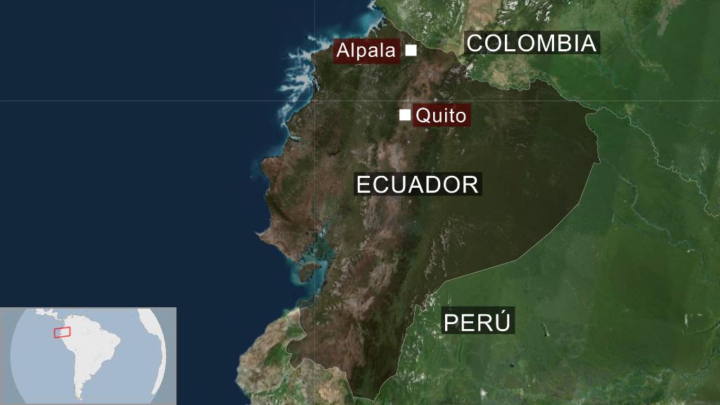 Mapa Alpala