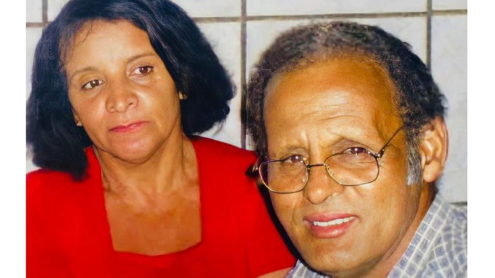 Maria Lopes e o marido, Paulo Alves