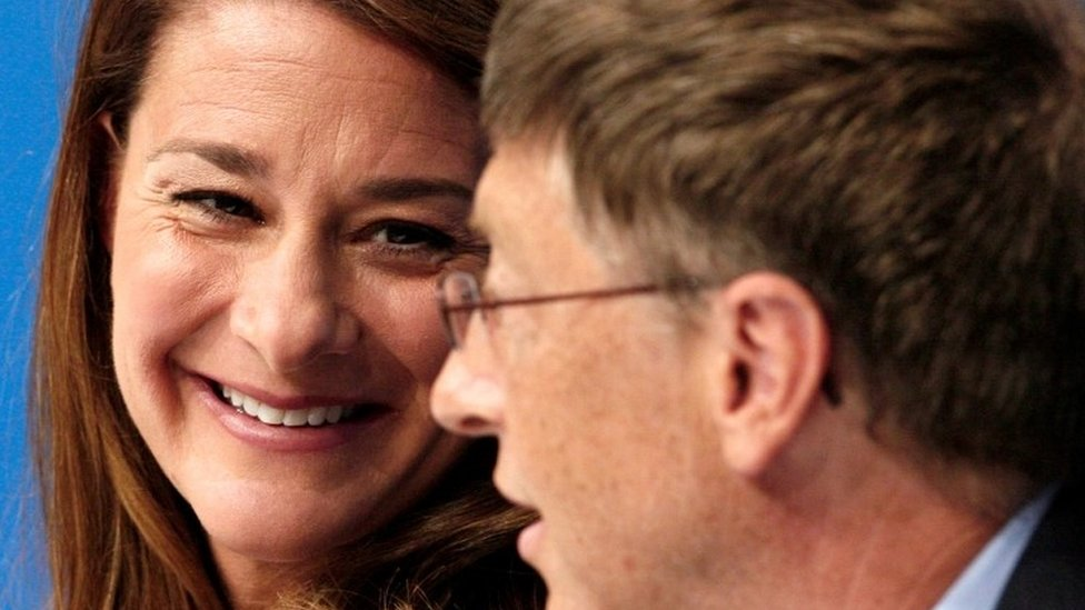 Melinda y Bill Gates