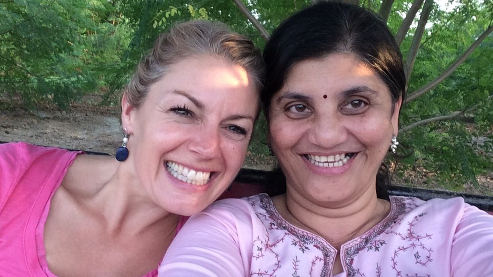 Amy Peake and Swati Bedekar