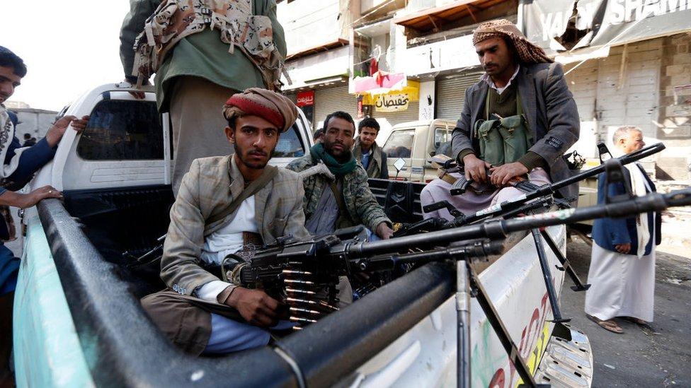 Los rebeldes hutíes llevan varios años enfrentándose con la coalición que lidera Arabia Saudita.