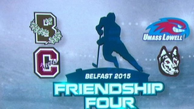 The Friendship Four tournament involving US collegiate teams attracted over 20,000 spectators to the SSE Arena over the weekend