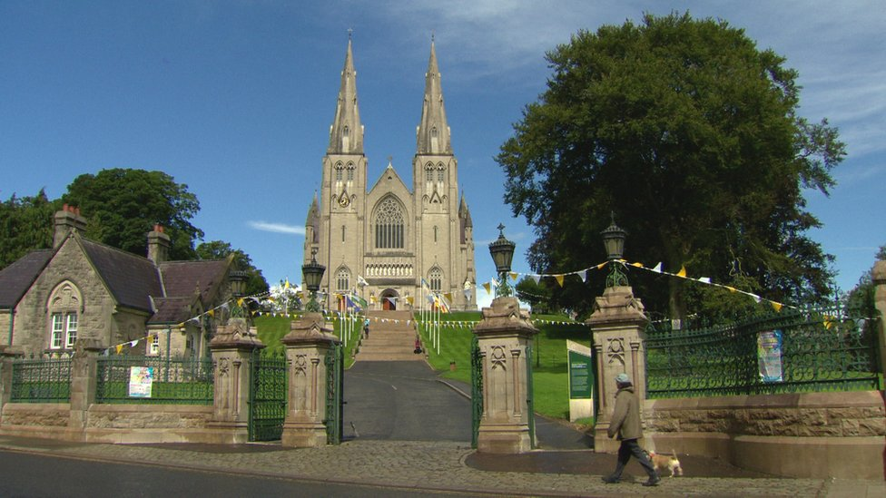 St Patrick's Cathedral in Armagh