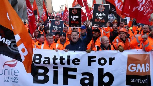 Union campaign to save mothballed BiFab yards in Fife