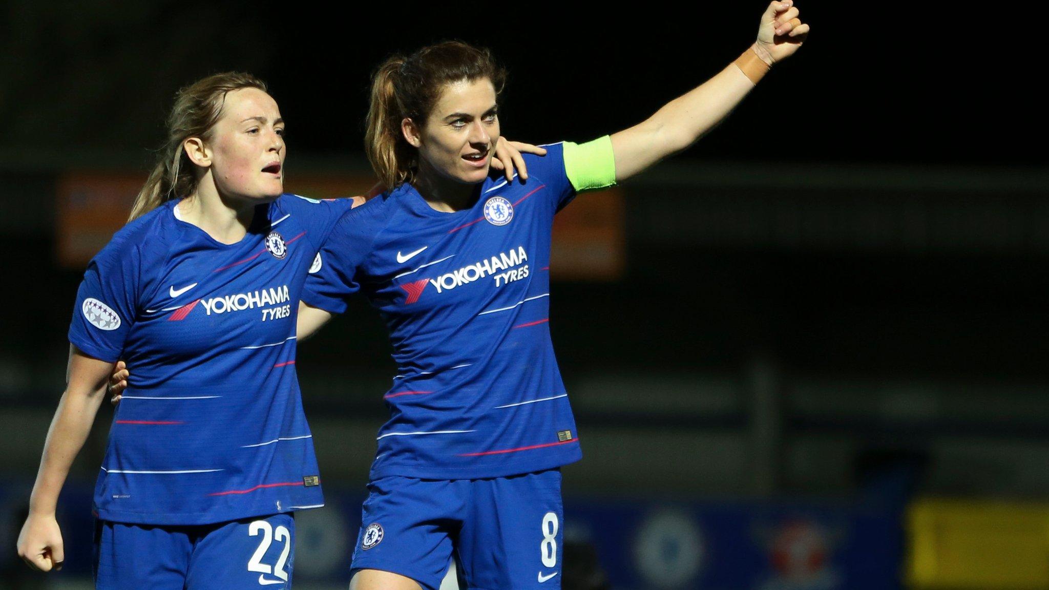 Chelsea take control of Champions League quarter-final against PSG
