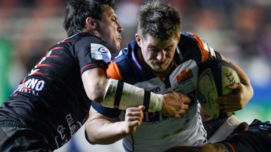 European Champions Cup: Toulon 17-28 Edinburgh - Richard Cockerill's side close on quarter-finals