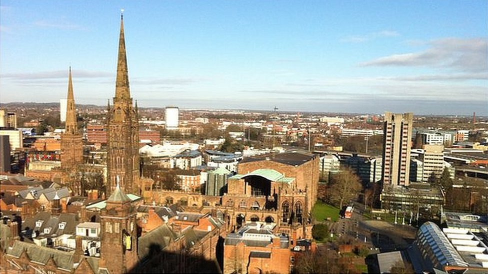 Coventry's city centre
