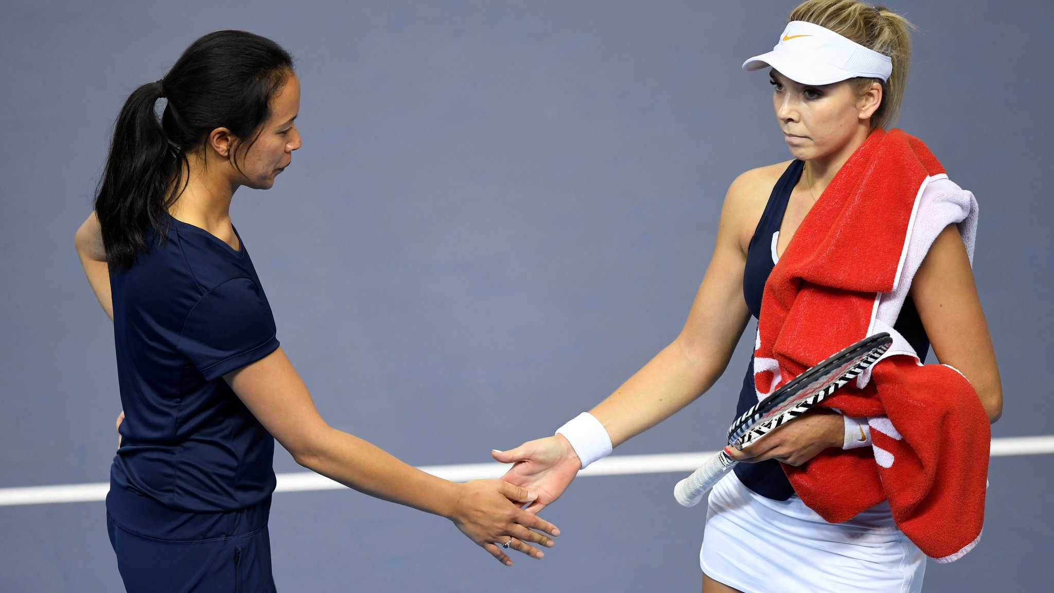 GB level with Kazakhstan in Fed Cup play-off