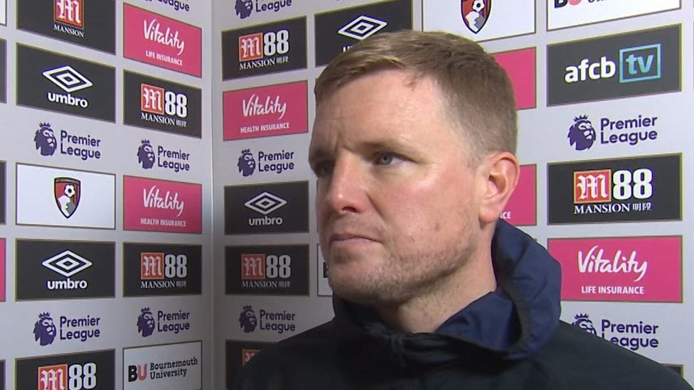 Bournemouth 1-1 Wolves: Penalty was harsh on us - Eddie Howe