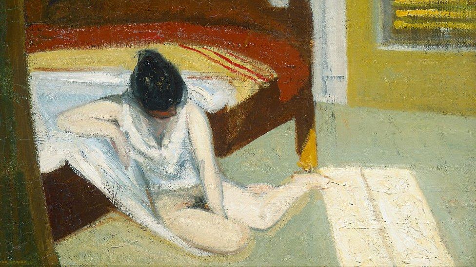 Summer Interior de Edward Hopper