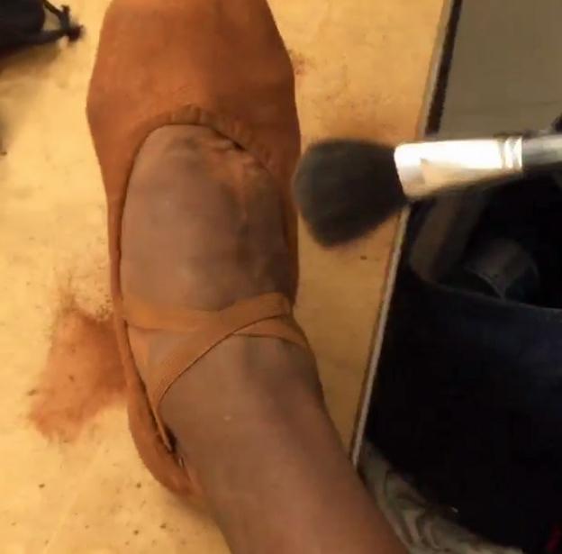 shoes for black ballet dancers