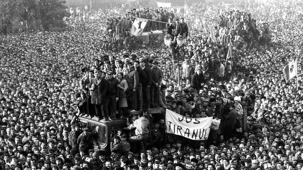 ثورة رومانيا