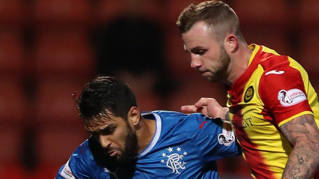 Christie Elliott: Carlisle United sign Partick Thistle defender