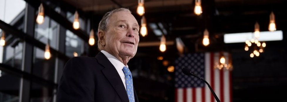 Michael Bloomberg. File photo