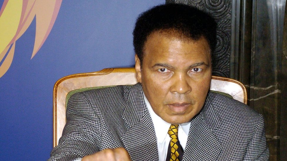 Muhammad Ali in 2003