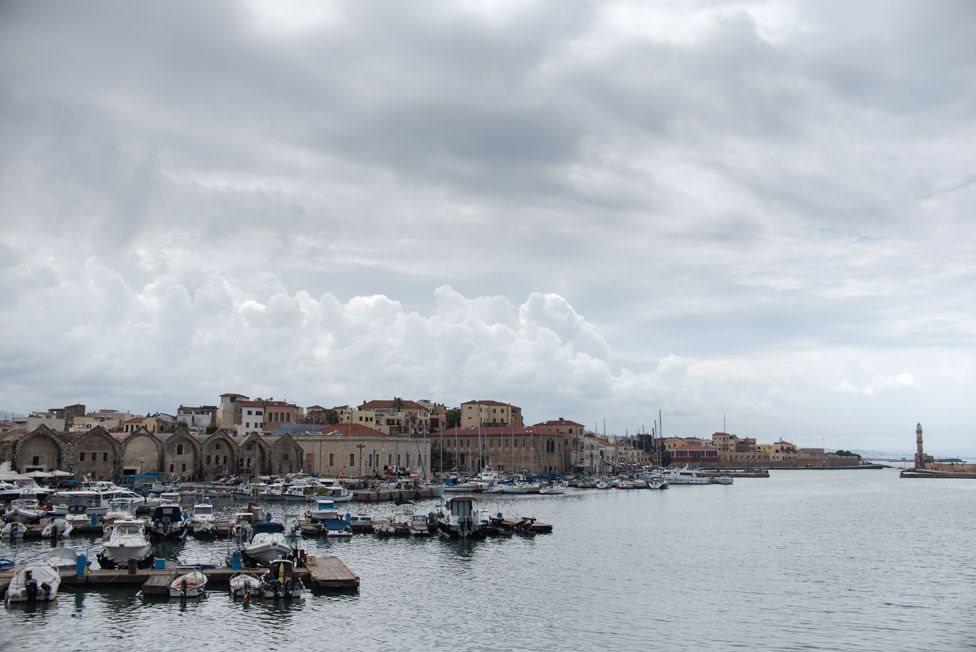 pelabuhan di Chania