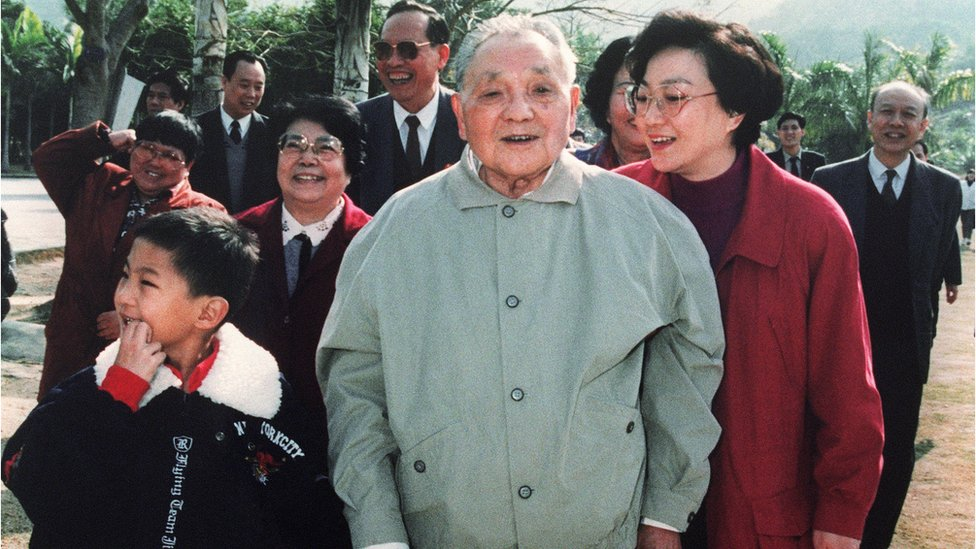 鄧小平1992年南巡