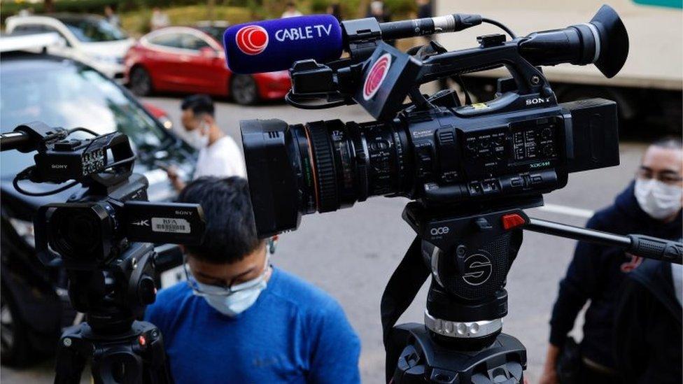 有線新聞公信力長期在香港電子媒體排行榜中的三甲位置。
