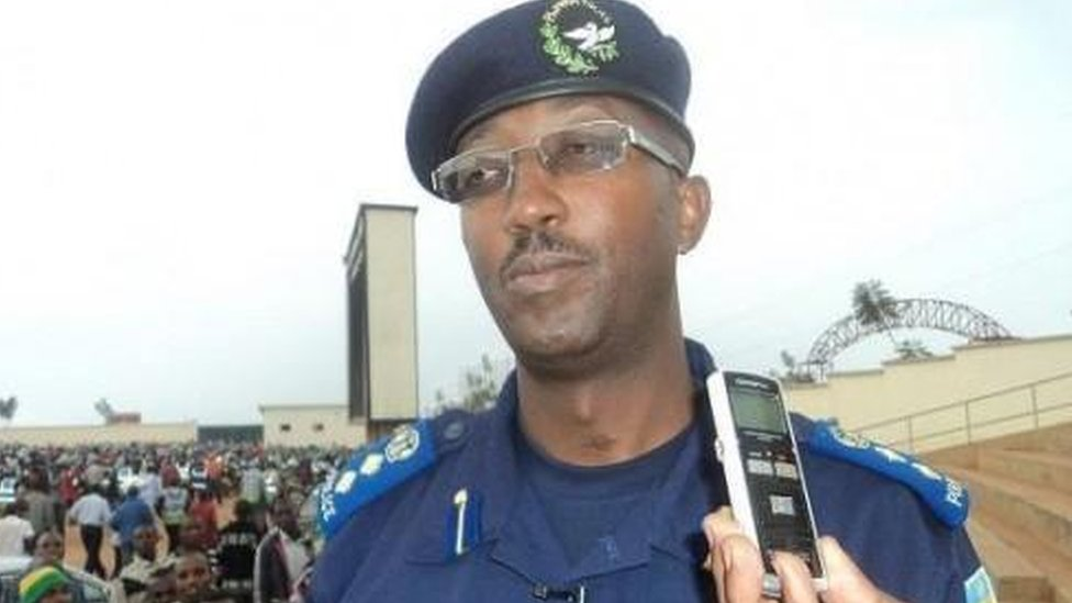 Rwandan police spokesman Celestin Twahirwa