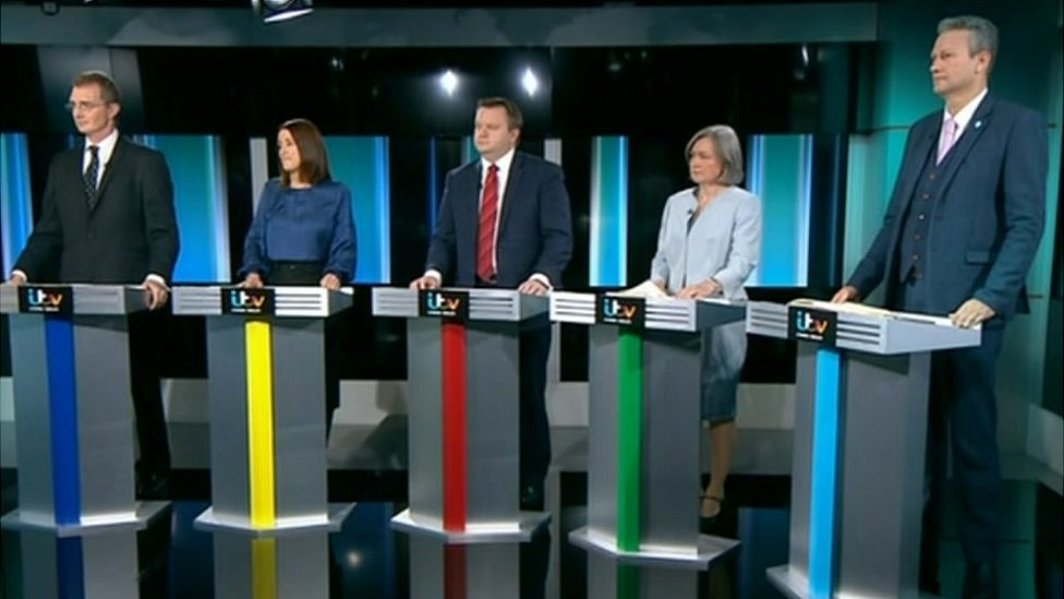 It has been the first TV debate in Wales of the general election campaign