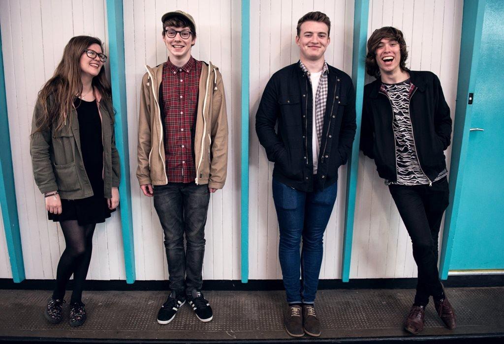 Northern Irish rock band Brand New Friend