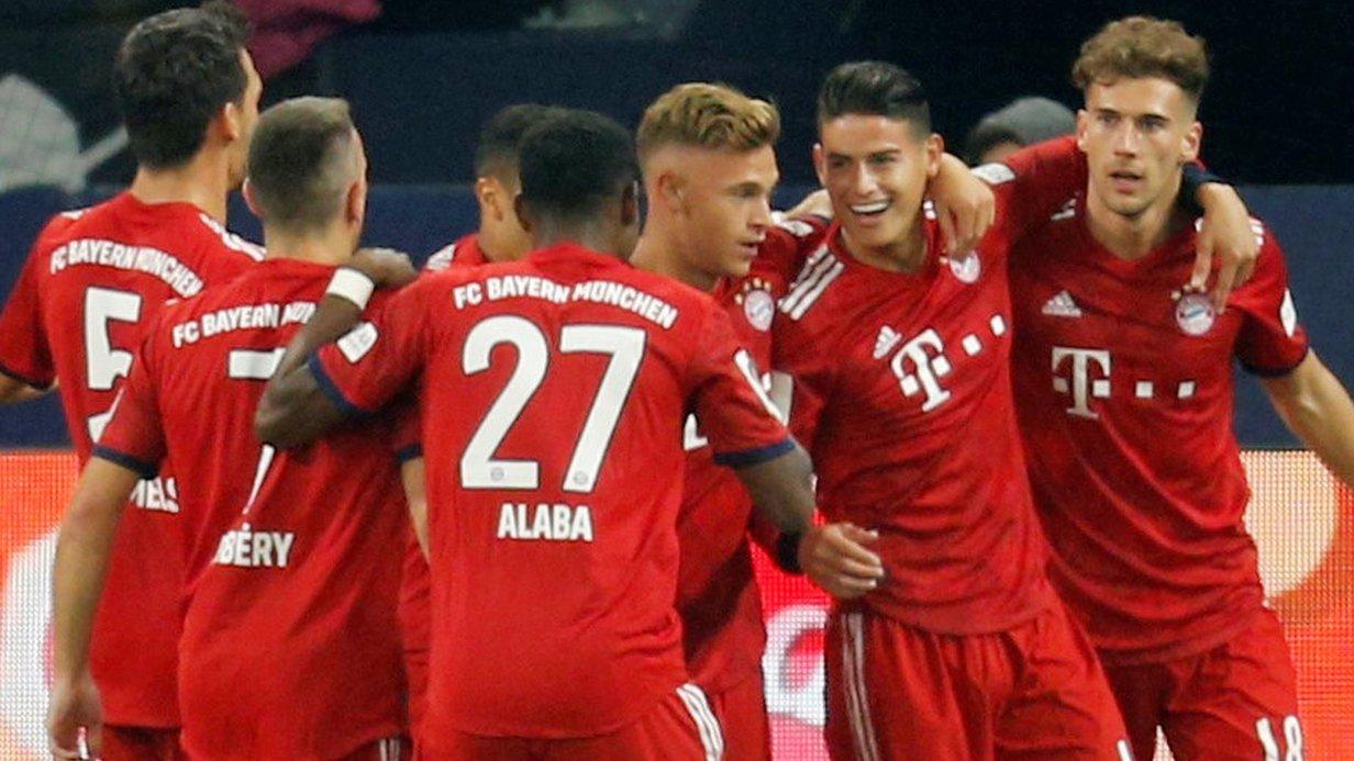 FC Schalke 04 0-2 Bayern Munich