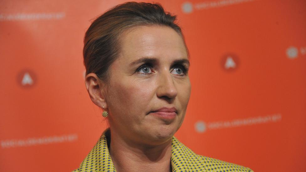 Danish PM Mette Frederiksen