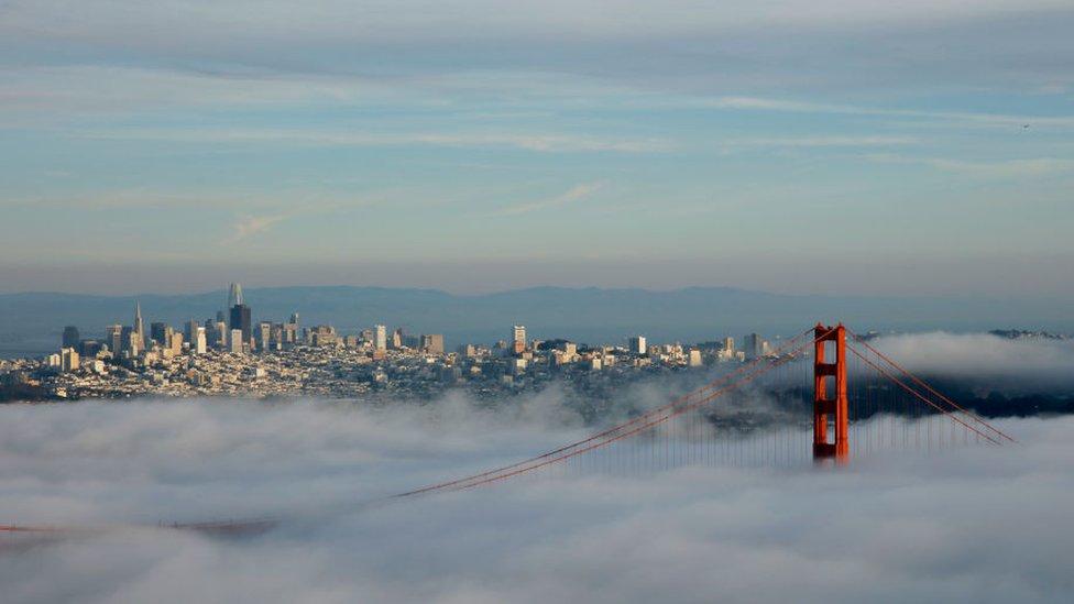 Una vista de la ciudad de San Francisco, una de las más caras de Estados Unidos.