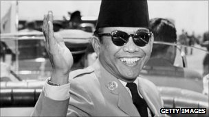 Indonesian President Achmed Sukarno (1956)