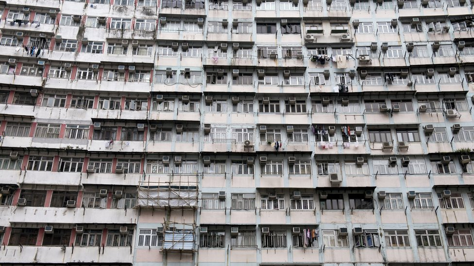 Viviendas en Hong Kong