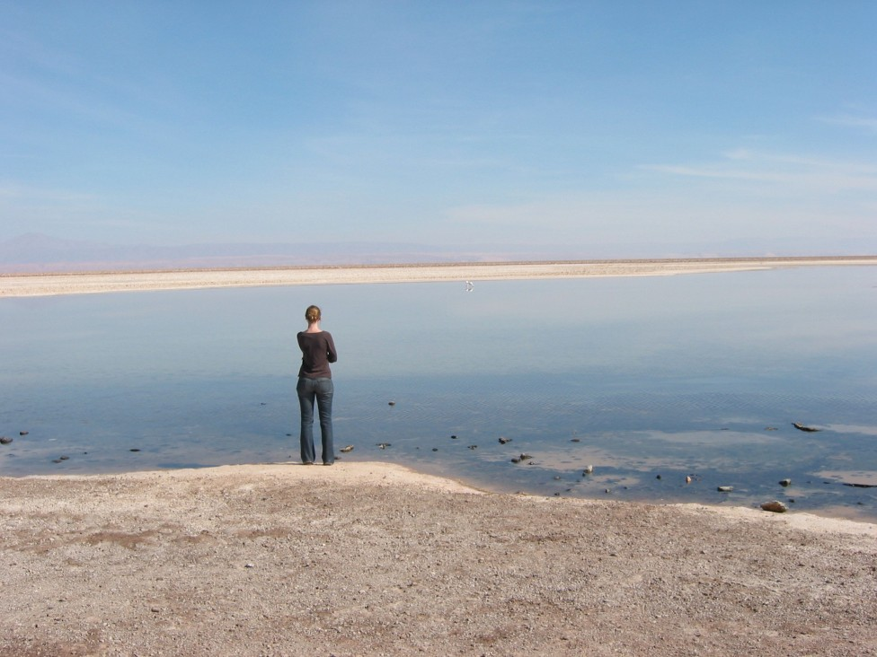 Jo Dunkley en Atacama en 2007.