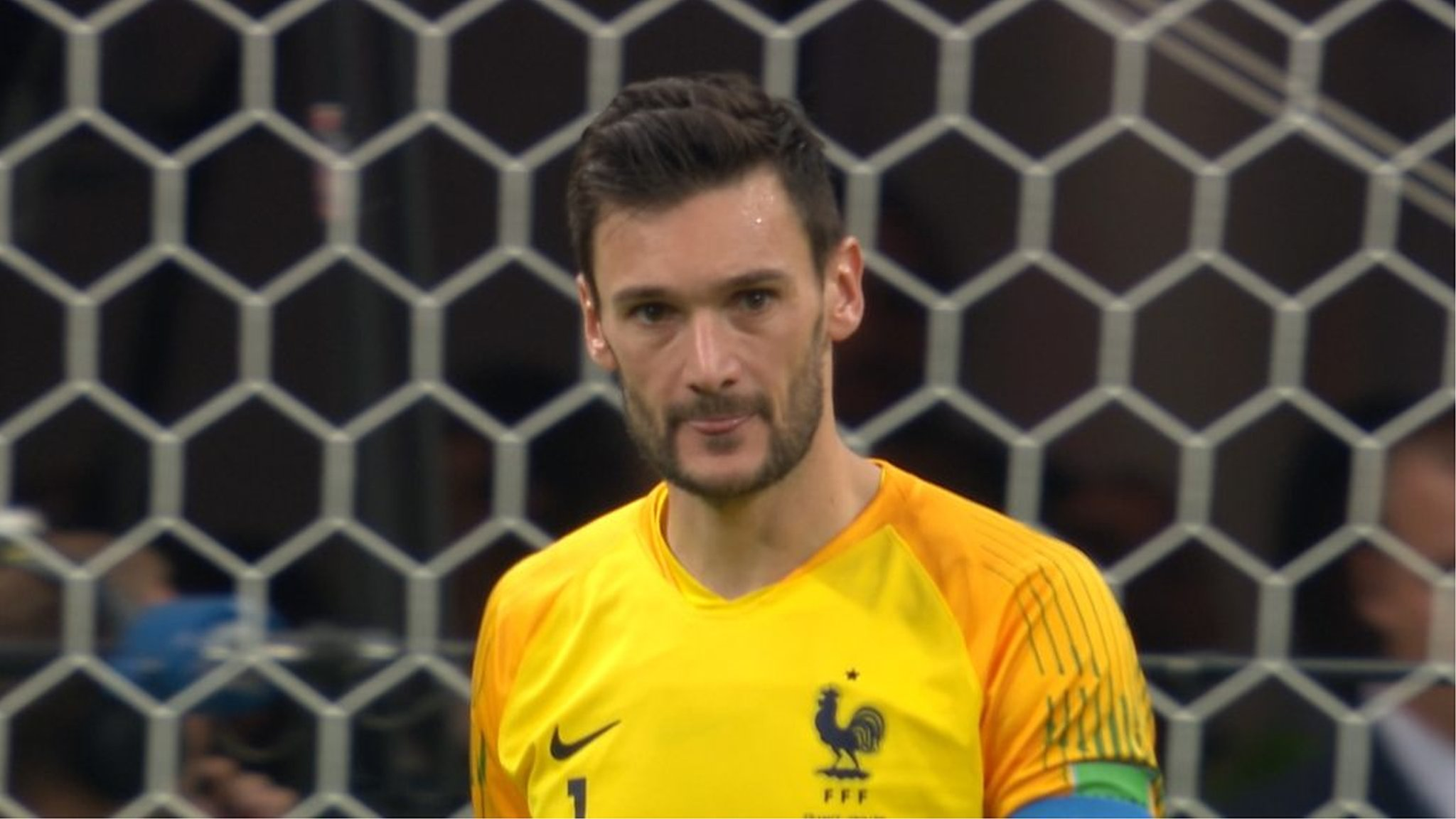Watch: Lloris howler gifts goal to Croatia