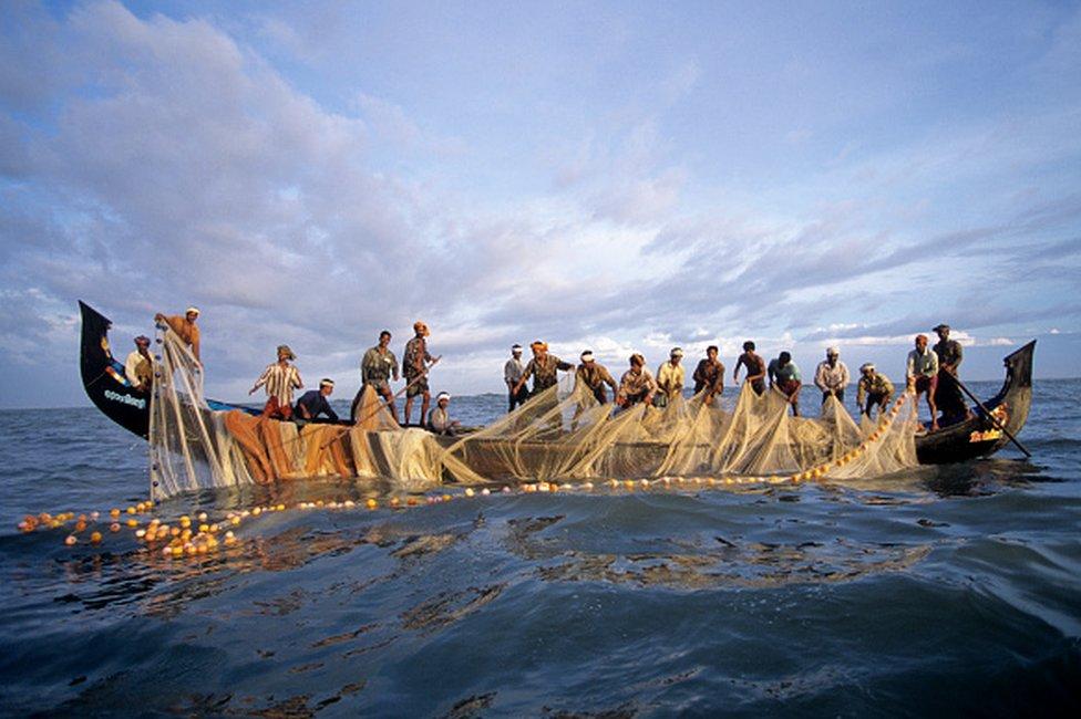 Kerala fishing community