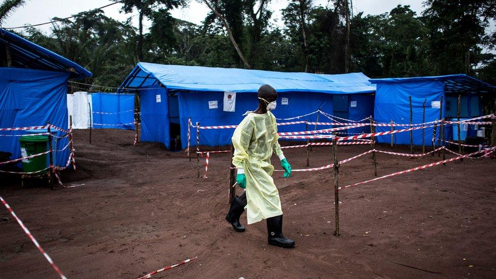 El último brote de ébola en Congo fue en 2017. Dejó cuatro muertos.