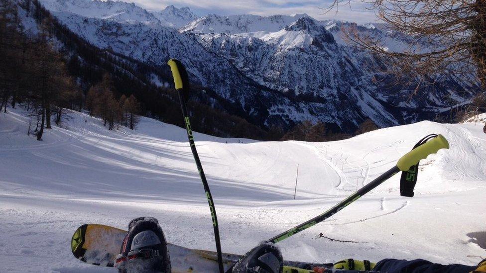 Foto de los Alpes italianos