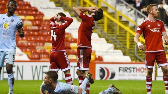 Highlights - Aberdeen 0-0 Partick Thistle