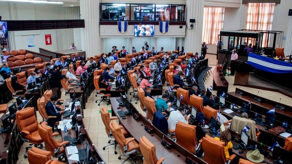 Sesión de la Asamblea Nacional el pasado 15 de octubre.