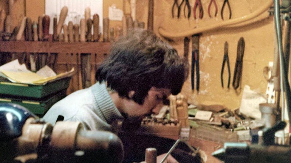 Grant Macdonald trabajando en los 70.